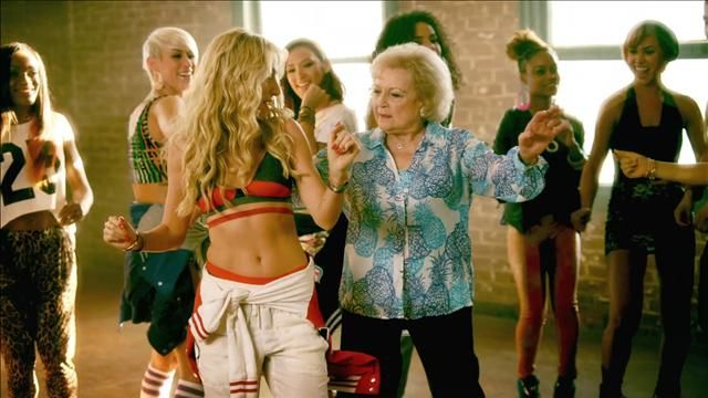 News video: Betty White Gets 'Provocative' in Brit Smith Video